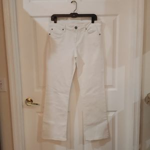 Kut From The Kloth straight leg white jeans